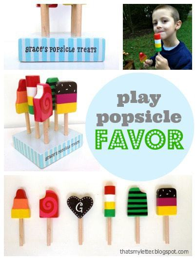diy play popsicle set