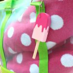 DIY Popsicle Key Fobs