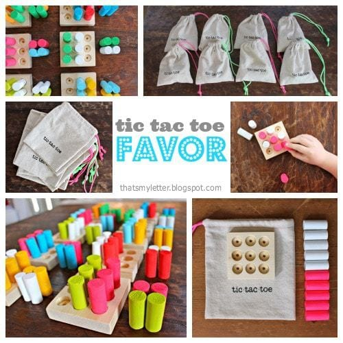 diy tic tac toe favors