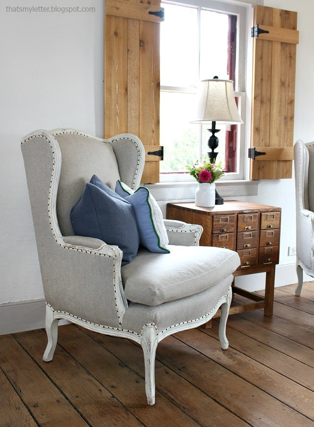 Etonnant How To Reupholster Wing Chairs