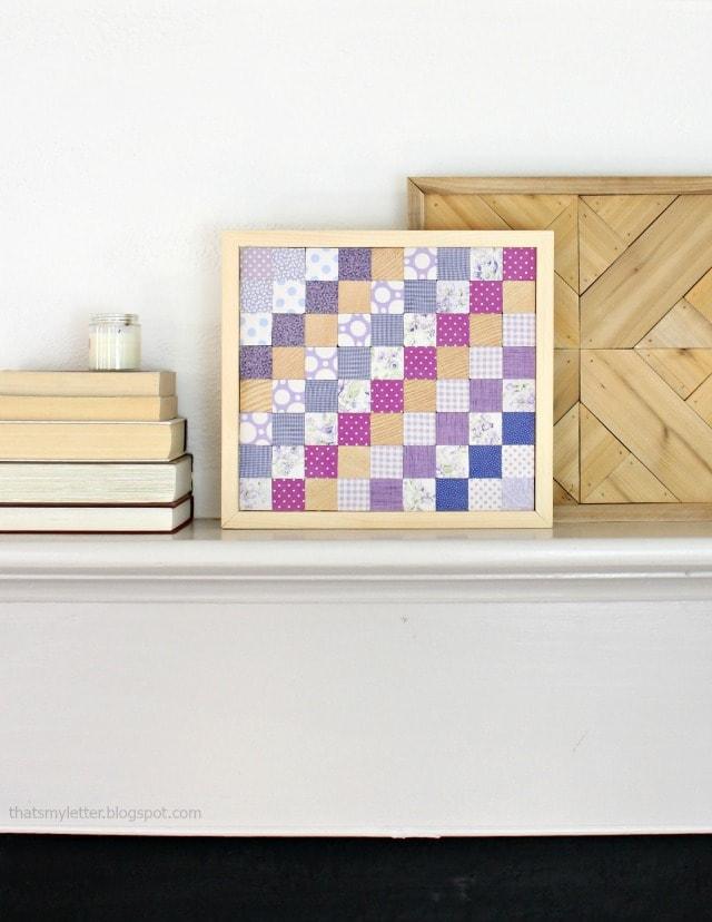 diy scrap wood quilt