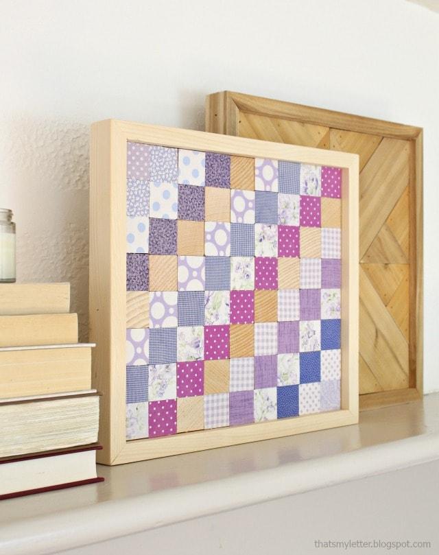 diy wood quilt