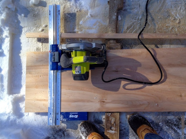 Kreg rip cut with circular saw