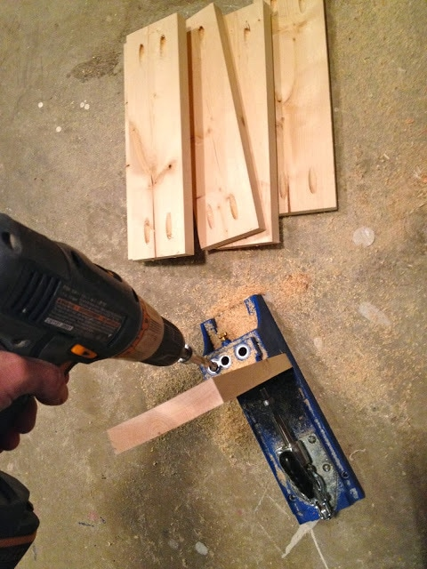 pocket holes to build drawer boxes