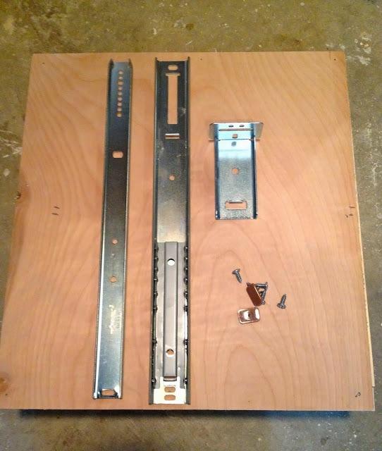 undermount drawer glides