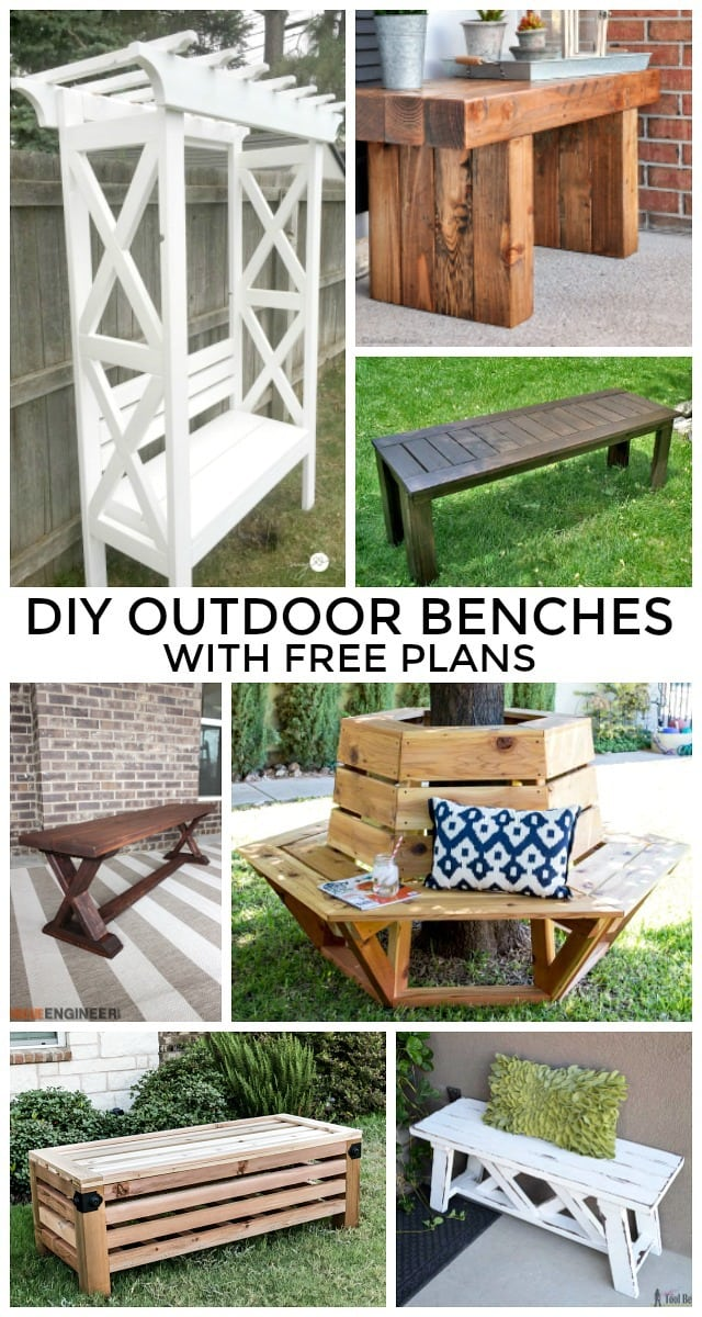 Diy Outdoor Benches With Free Plans Jaime Costiglio