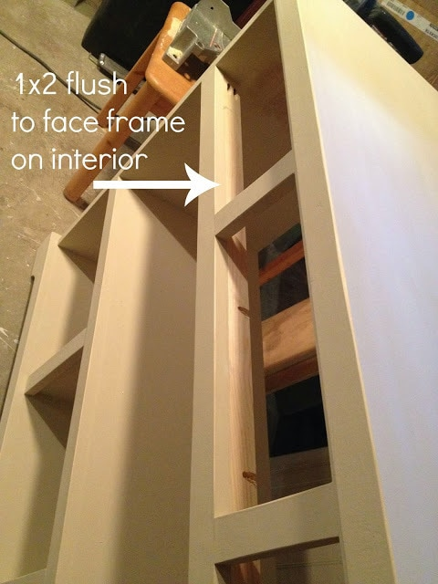 entry console drawer support