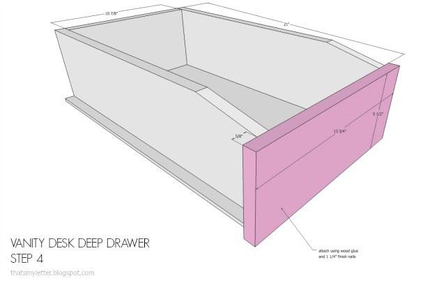 deep drawer sketch