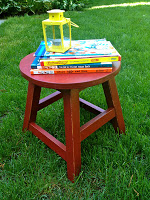 diy kids round stool