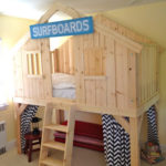 DIY Clubhouse Bed for Kids