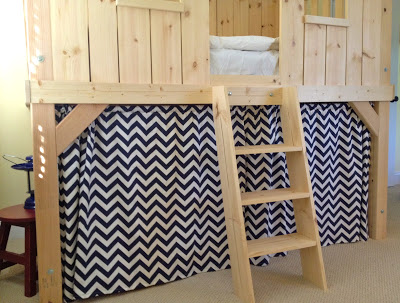 ladder steps for kids clubhouse bed