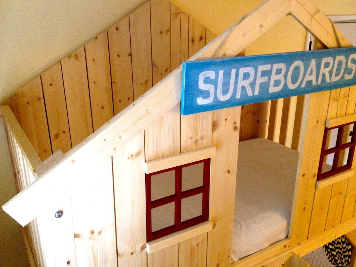 How To Build A Clubhouse Loft Bed Jaime Costiglio