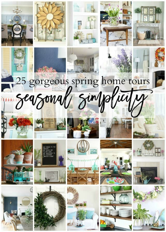 spring home tours seasonal simplicity