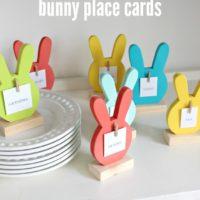 DIY Bunny Place Cards