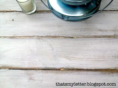 distressed vintage cabinet top