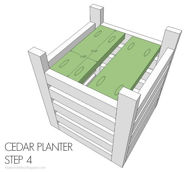 planter step 4