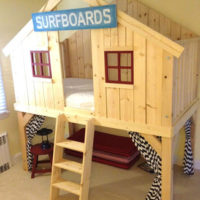 How to Build a Clubhouse Fort Bed