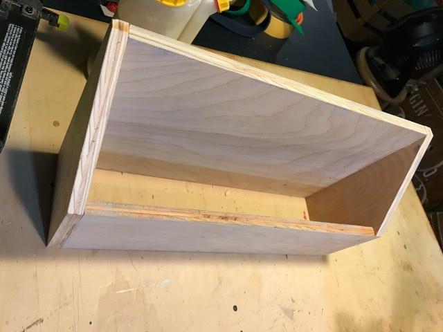 building a letter holder