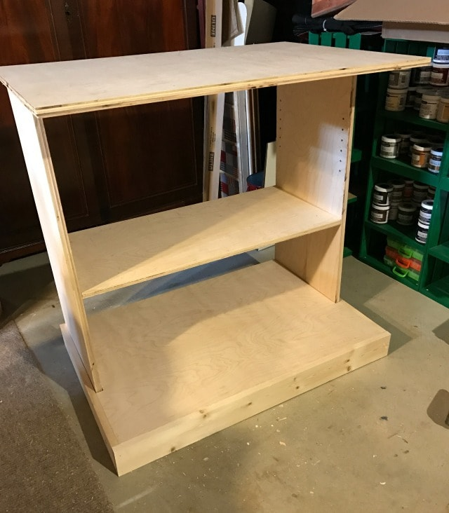 kitchen pantry cabinet carcass