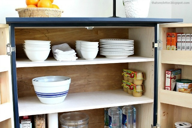Diy Kitchen Pantry Cabinet