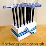 DIY Teacher Appreciation Gift Pencil Holder