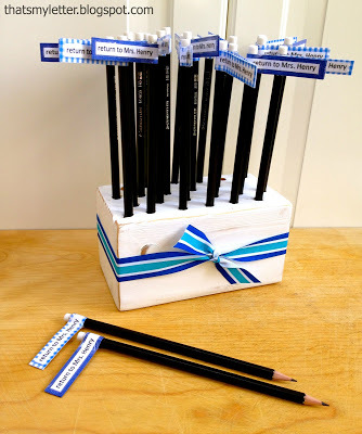 diy pencil holder teacher appreciation gift