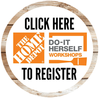 register button DIH Workshops at The Home Depot