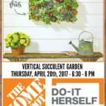 Vertical Succulent Garden DIH Workshop at The Home Depot