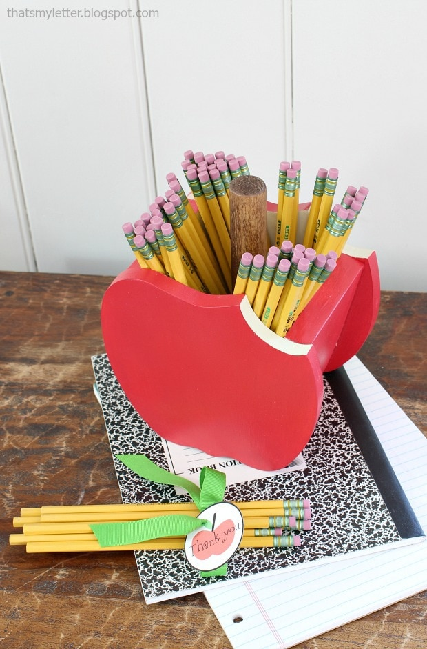 apply pencil holder gift