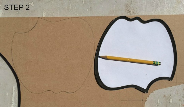 how to make an apple pencil holder
