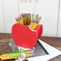 DIY Apple Pencil Holder