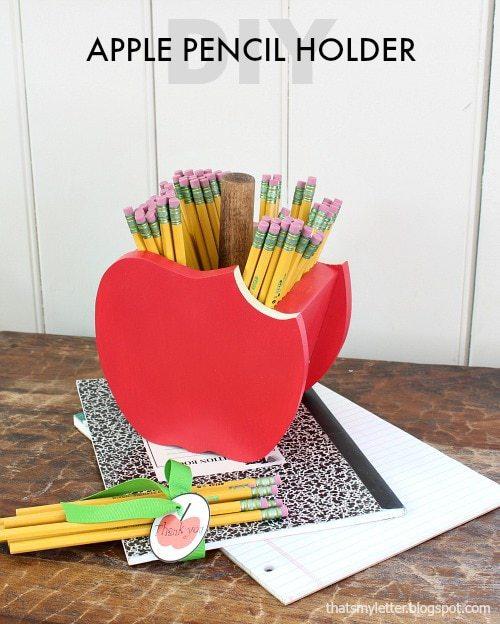 DIY apple pencil holder