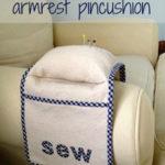 DIY Armrest Pincushion