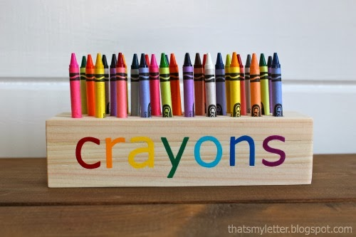 Diy Crayon Holder Jaime Costiglio