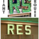 DIY Giant Marquee Letters