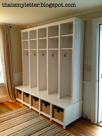 Build This Locker Style Mudroom And Bench Units For Your E With An Organized System All The Shoes Jackets Things Have A Place