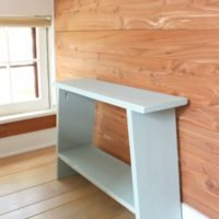 simple bench from one board