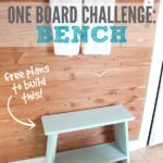 One Board Challenge: Bench