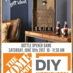 Bottle Opener Game DIY Workshop at The Home Depot