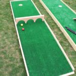 DIY Mini Putt Course & Ryobi Tool Giveaway