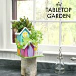 DIY Tabletop Herb Garden & DecoArt Giveaway