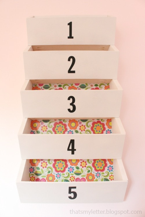 wall bins for organization