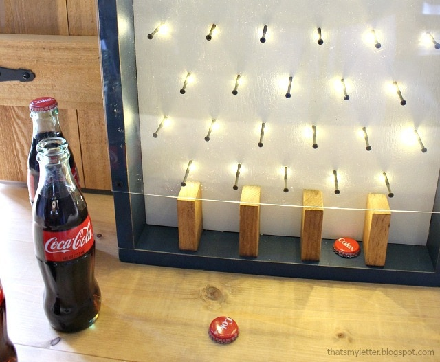 bottle opener game with lights