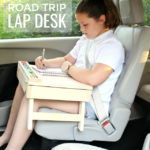 DIY Road Trip Lap Desk & Giveaway