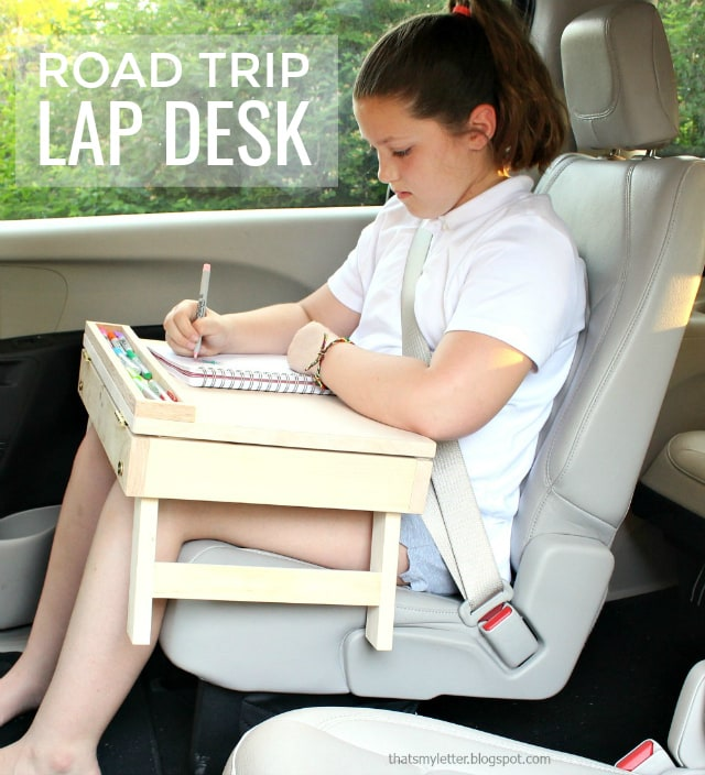 diy portable lap desk