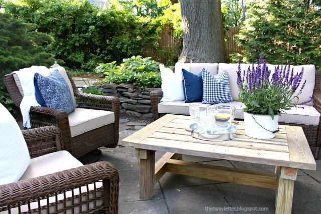 outdoor summer home tour patio makeover