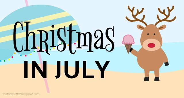 christmas in july graphic