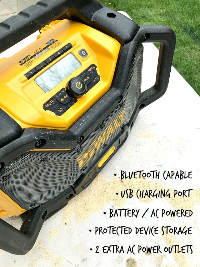 dewalt bluetooth radio