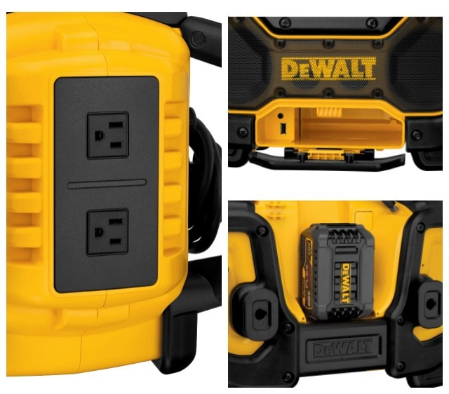 dewalt bluetooth radio details