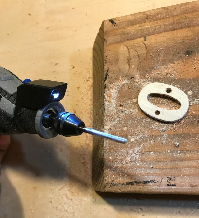 dremel rotary tool with pivot light